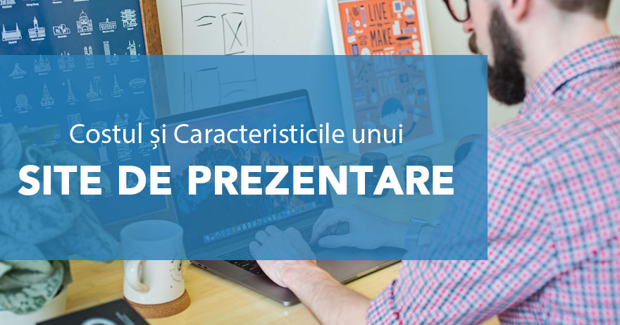 creare site prezentare web design
